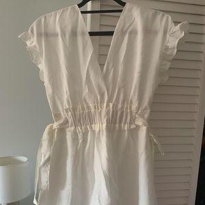 Zara White Dress - Never Worn!